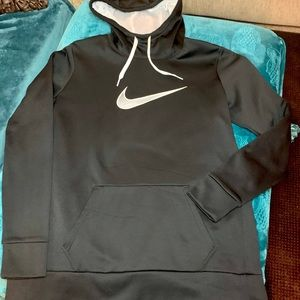 Nike Dri-Fit Women's Panel Hooded Sweatshirt; Lg